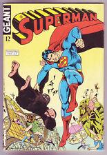 ! SUPERMAN GEANT N°12 en TRES BON ETAT !
