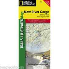 National Geographic Trails Illustrated WV New River Gorge National River Map 242
