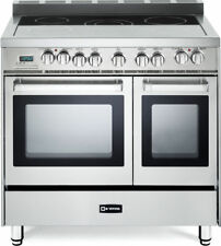 "Verona VEFSEE365DSS Electric Double Oven Range 36"" - Stainless Steel"