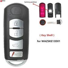 For Mazda 3 6 2013 16 2017 2018 Remote Key Shell Case Fob 4 Button Fccske13d 01 Fits Mazda