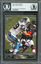 Panthers Luke Kuechly Authentic Signed 2013 Topps Prime #98 Card BAS Slabbed