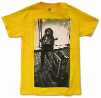Bob Marley Bmw On Yellow Yellow T Shirt New Official Adult Reggae Music Band