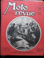 MOTO REVUE N°930 DU 5 NOVEMBRE 1948 / MOTEUR AUXILLIAIRE BMA /  ANGLAISES
