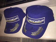 HAND SIGNED JORGE LORENZO 2017 MICHELIN PODIUM CAP. RARE.