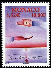 SELLOS MONACO 2000 2256 CRUZ ROJA  1v.