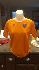 New Other Umbro Fc Manchester Vibrant Orange Soccer Jersey Men's Xxl