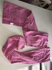 "Pottery Barn Curtains Drapes Pair Set (2) Ballet Pink 63"" X 44"""