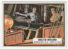 Topps A&BC Civil War News Gum Card Spain Spanish language printing #76