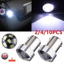 Globo Blanco de Coche 10X 1156 BA15S 6 LED Luz de Cola Stop Giro Inverso De Freno Bombilla 12V