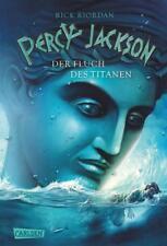 Percy Jackson 03: Der Fluch des Titanen von Rick Riordan (2010, Gebundene Ausga…