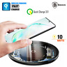 Baseus Qi Wireless 10W Fast Charging Charger Samsung Note 10 9 8 S10 Plus S8 S9