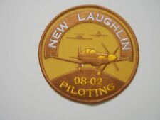 USAF PILOT TRAINING  CLASS 08-12 NEW LAUGHLIN AFB PATCH -  COLOR :GA18-1