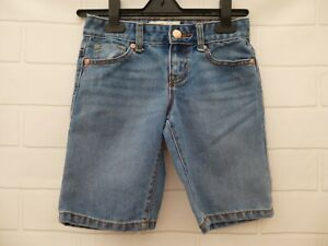 Old Navy Denim Shorts Size 8 Blue Regular Front Back Pockets Zip Stud Fasten