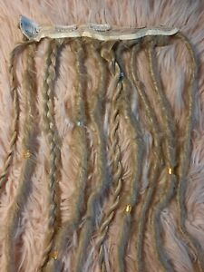 Dreadlocks Extensions A Clips Noir Blond