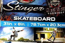 New Stinger Skateboard Complete Trucks Wheels last exit series nice