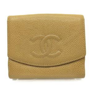 Chanel Wallet  Beiges Caviar Skin 1606116