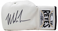 Mike Tyson Signed Left Hand White Cleto Reyes Boxing Glove JSA ITP