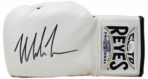 Mike Tyson Signed Left Hand White Cleto Reyes Boxing Glove JSA ITP