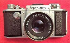 COLLECTOR'S ASAHIFLEX IIA BODY w/f 2.4 58MM ASAHI-KOGAKU TAKUMAR LENS MINT!!