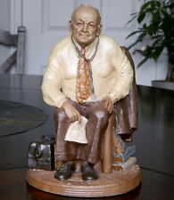 1983 Tom Clark Signed Statue Dr Grey Md Limited Edition, True Builder Series #59