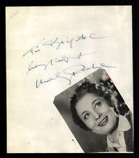 Mady Rahl / Unbekannt Original Signiert 50er Jahre + G 6935