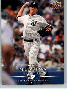 2008 Upper Deck First Edition -#244 Mike Mussina  New York Yankees