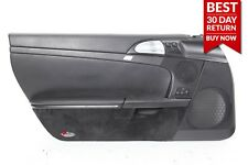 06-12 PORSCHE CAYMAN 987 FRONT LEFT DRIVER SIDE INTERIOR DOOR PANEL BLACK OEM