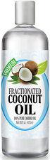 Fractionated Coconut Oil - 100% Pure Carrier Premium Therapeutic Grade Oil, 16oz