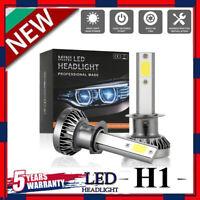 MINI H1 LED Headlight Bulbs Conversion Kit 200W 48000LM 6000K Hi/Lo Beam Lamps