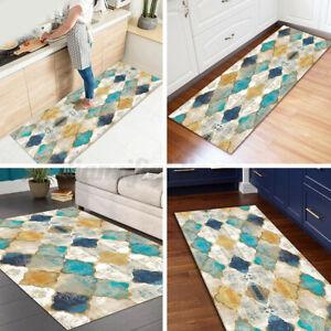 Area Rugs Non Slip Floor Cheap Mat Kitchen Washable Long Runner Hallway Carpet