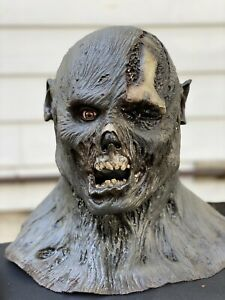 Friday The 13th Part 6 Jason Lives Latex Mask Bust Prop Voorhees Freddy Myers