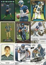2008 08 Topps John Carlson RC Seattle Seahawks Lot Notre Dame