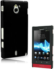 Coque rigide Casy Noir Sony Xperia Sola