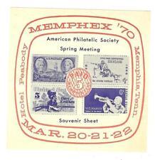 Memphex 1970 - American Philatelic Society Spring Meeting Souvenir Sheet
