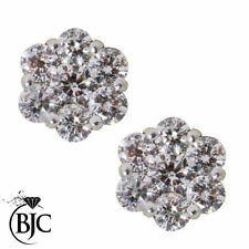 Excellent Cut Natural SI2 Fine Diamond Earrings