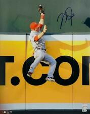 "Mike Trout Los Angeles Angels of Anaheim Signed 16"" x 20"" The Catch Photo MLB"