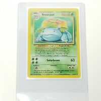 Pokemon Venusaur Holo 1999 Base Set Unlimited Rare Card 15/102