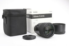 Canon SIGMA 135 mm 1.8 DG HSM ART + neuf dans sa boîte + top (217598)
