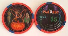$5 Las Vegas Palms Playboy Club Halloween 2007 Casino Chip - Uncirculated