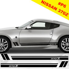 Nissan 370z Side Racing Stripes Stickers Decal Tuning Car Graphics Viper