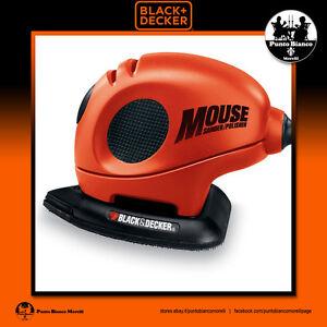 BLACK+DECKER. Levigatrice Mouse® 55W - Mouse® Detail Sander 55W   KA161BC-QS