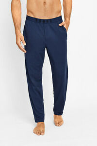 2 x Bonds Mens Comfy Livin Jersey Pant - Atlantic Blue Tracksuit Trackies