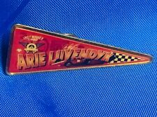 Indianapolis Indy 500 Vintage ARIE LUYENDYK Pennant Style 1990 Winner Pin