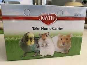 Kaytee cardboard carrier box for birds or small animals