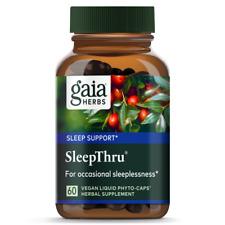Sleep Thru Gaia Herbs 60 VCaps