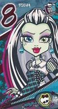 MONSTER HIGH AGE 8 TODAY 8TH BIRTHDAY CARD NEW GIFT