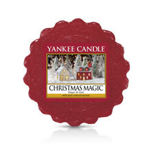 YANKEE CANDLE cialda da fondere Crhistmas Magic wax melt tart durata 8 ore