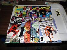 Daredevil lot #242 #243 #253 #257 #258 #259 #260 and Annual #4 8 books!!!
