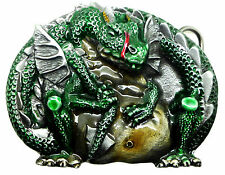 Dragon Belt Buckle Sci fi Fantasy Mythical Creature Authentic Dragon Designs