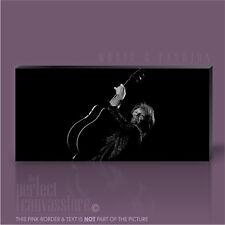JON BON JOVI ROCK GUITAR LEGENDS PICTURE ICONIC CANVAS POPART PRINT Art Williams